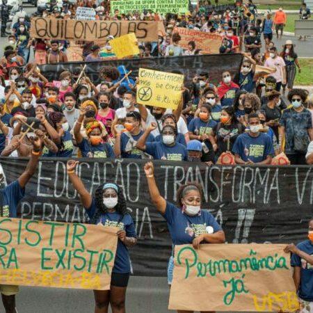 """""""A educação superior é um direito e não deve ser abordado como privilégio de poucos"""", afirmam estudantes indígenas e quilombolas que estão em Brasília"""